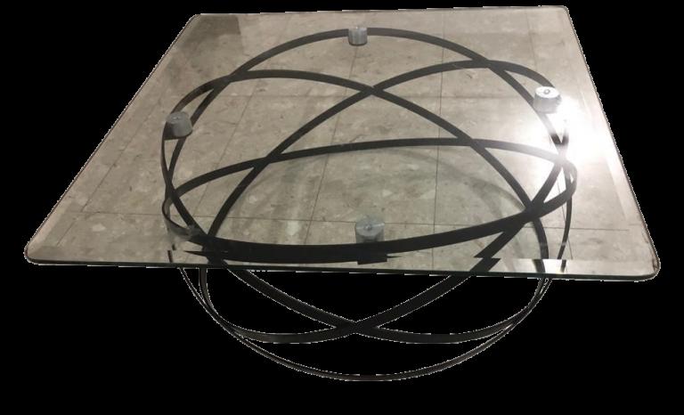 שולחן בסיס עגול זכוכית1 png