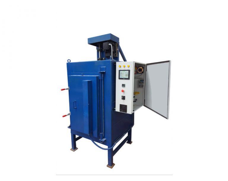 תנור תעשייתי כחול